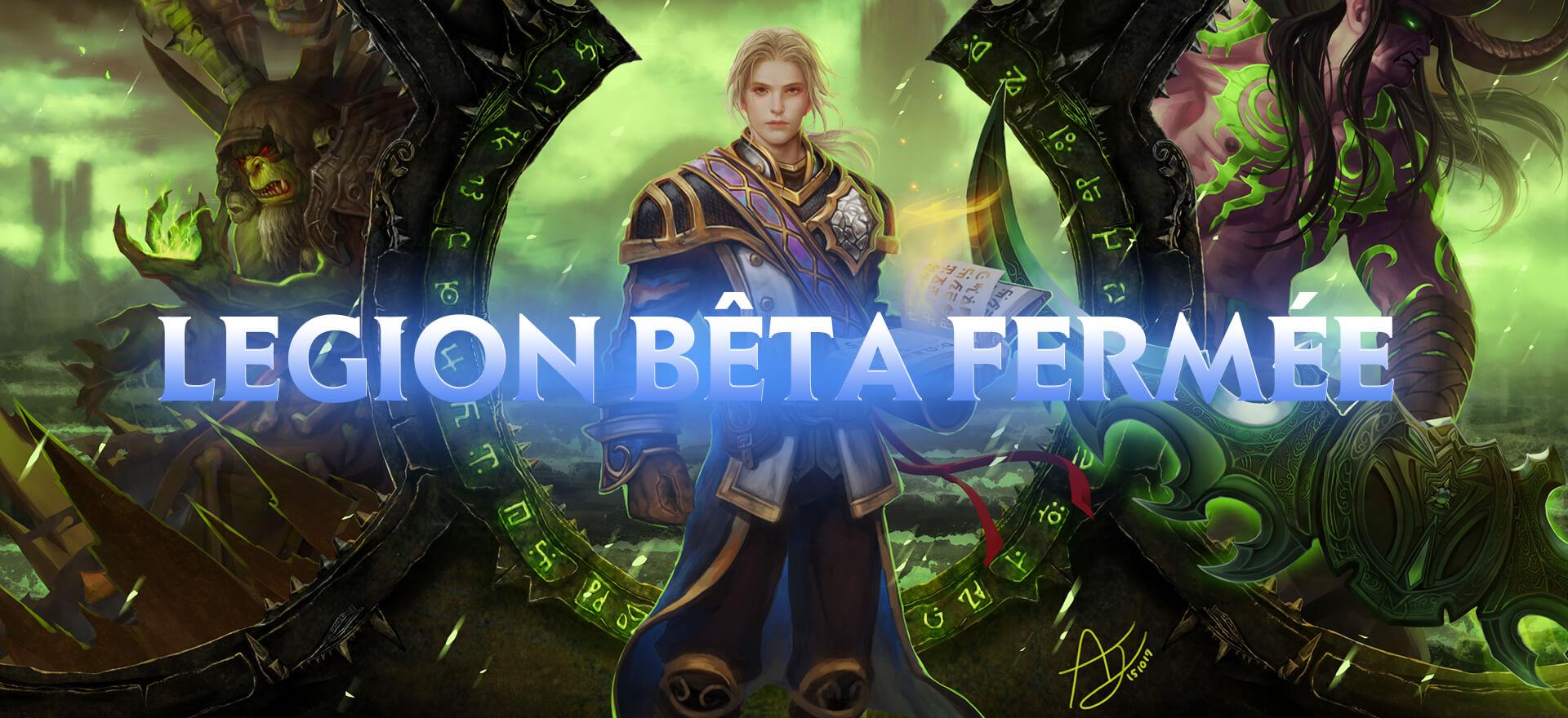 Legion Beta Forum